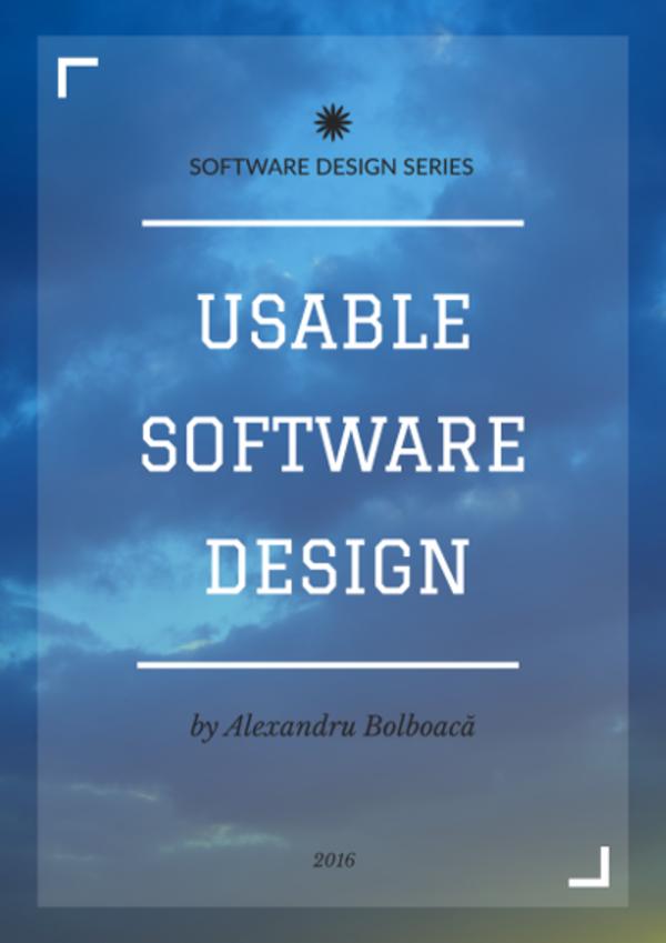 Usable Software Design Book
